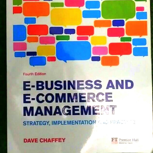 E-business and E-commerce Management | Dave Chaffey, 4th Edition