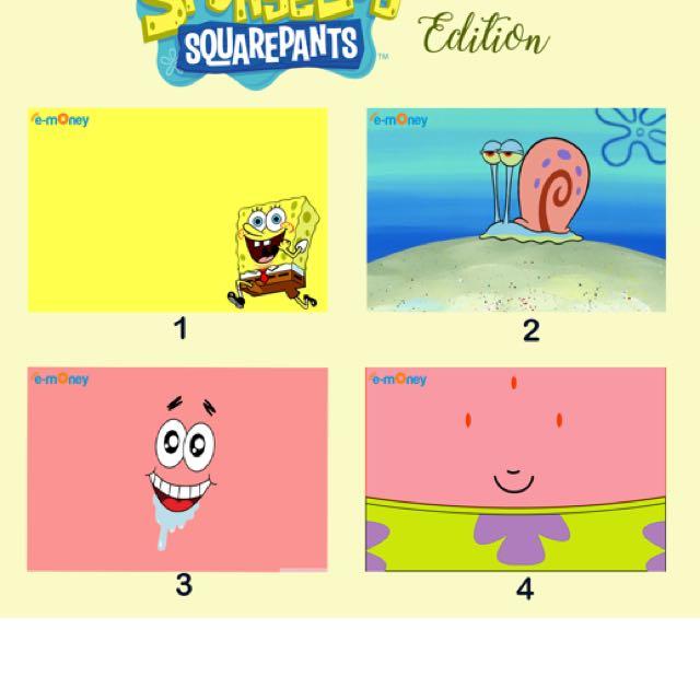 Emoney/flazz Custom Spongebob Edition