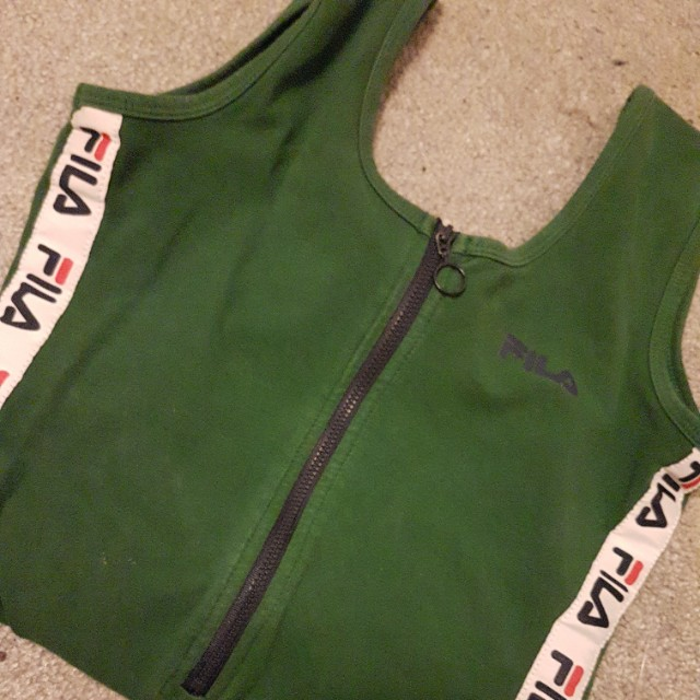 FILA bodysuit size xs fits s too
