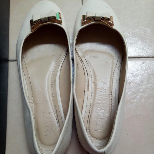 Flat shoes velvet