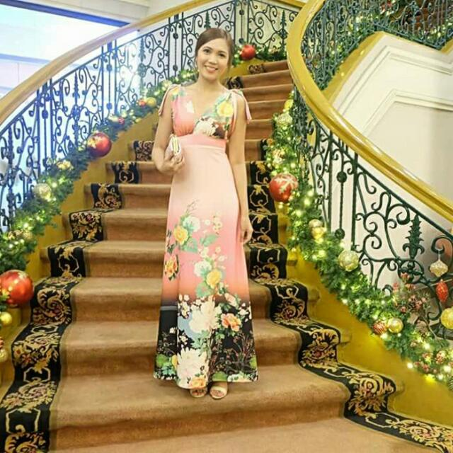Floral Formal Gown