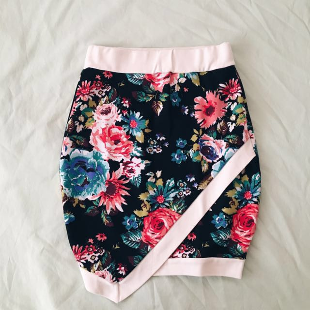 Floral Origami Skirt