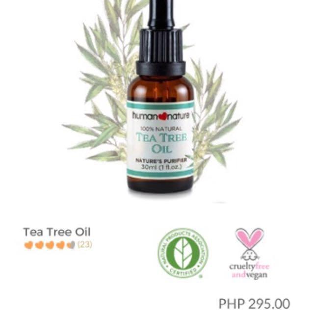 FREE SF : Human Nature's Tea Tree Oil