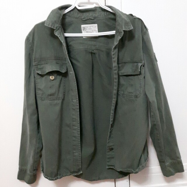 Garage Military Pullover