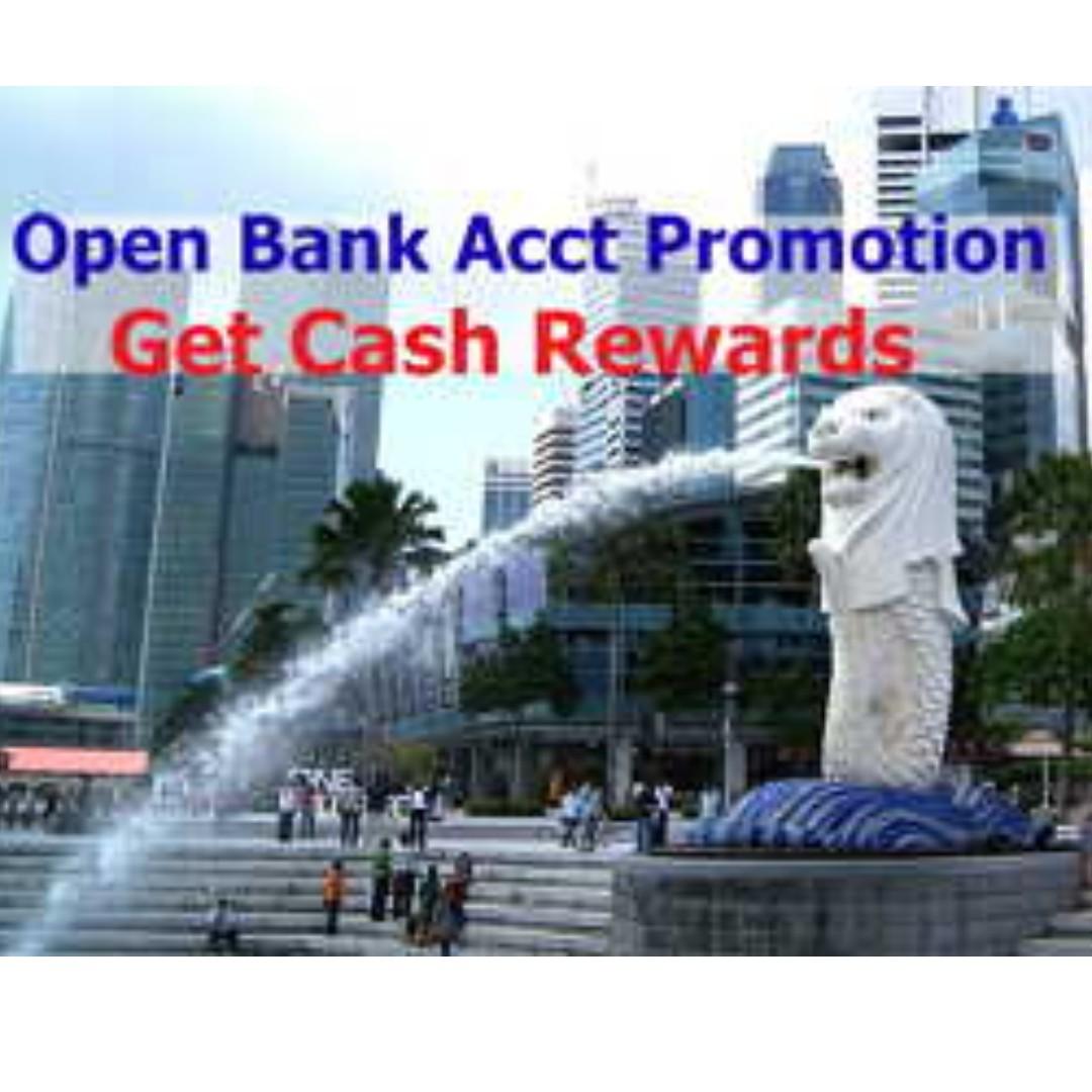 Get $1000 Cash Reward - Open Bank Account Promotion