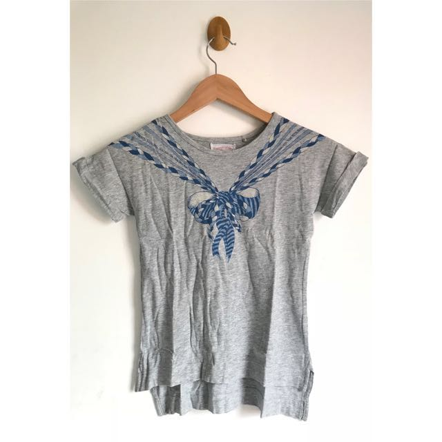 Gingersnaps Grey Tee