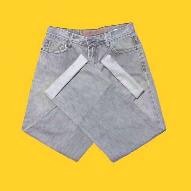 Gray Bossini HW Mom Jeans