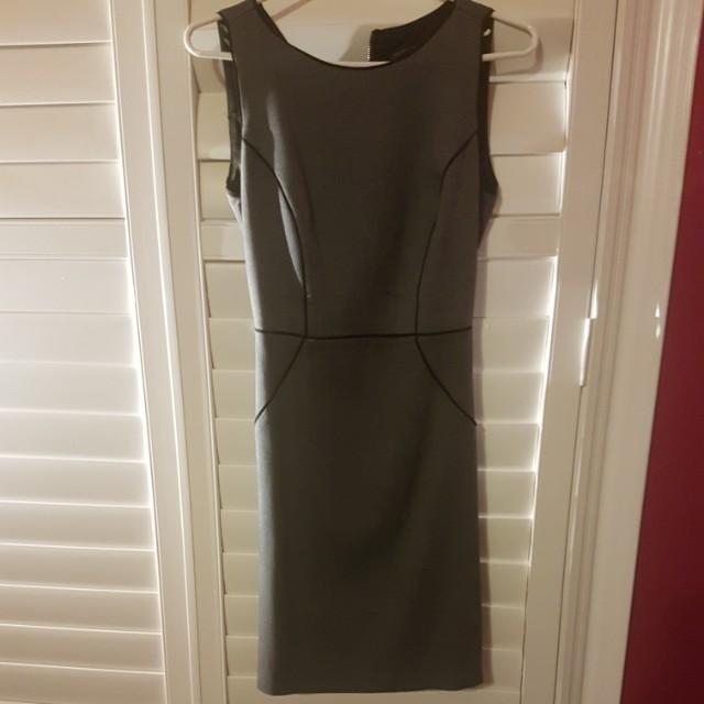 Grey business dress Size 2