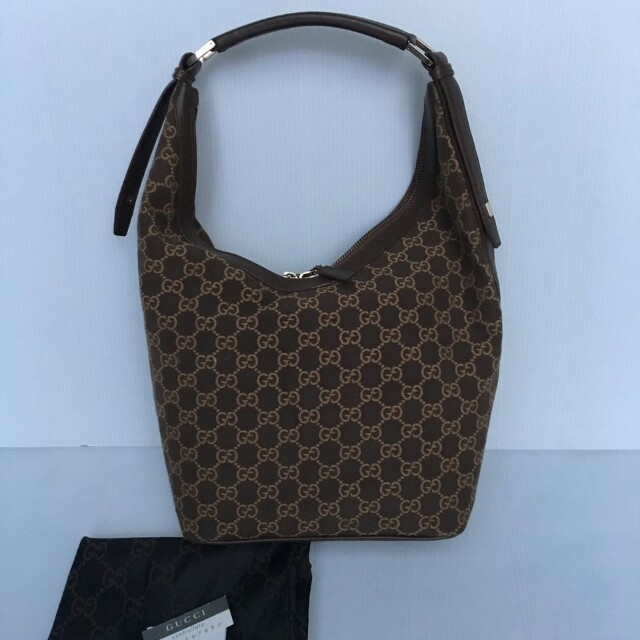 Gucci canvas brown