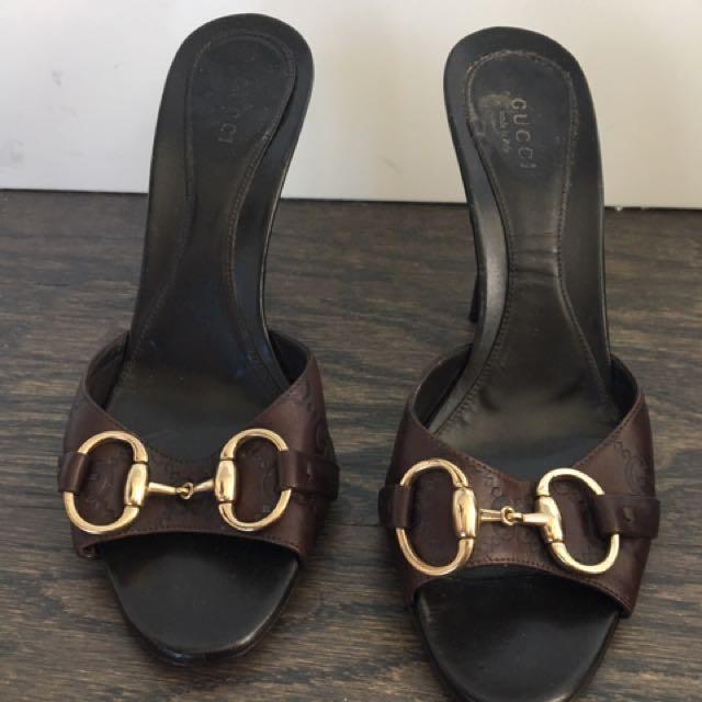 Gucci Slide On Heels