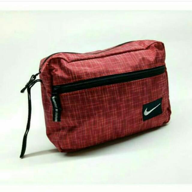 Handbag Nike Red