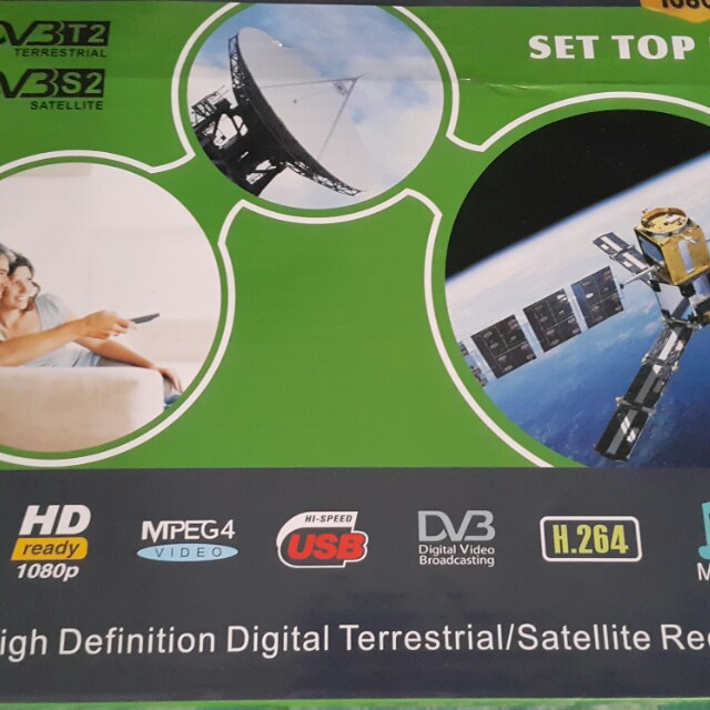 HD Digital DVB-T2&S2 Combo Receiver or SWAP