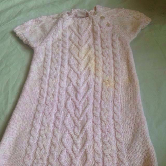 H&M Knitted Pink Dress