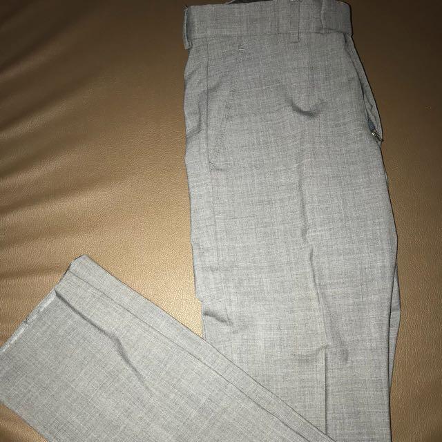 H&M Office Grey Office Pants Size EU 46 US 32R