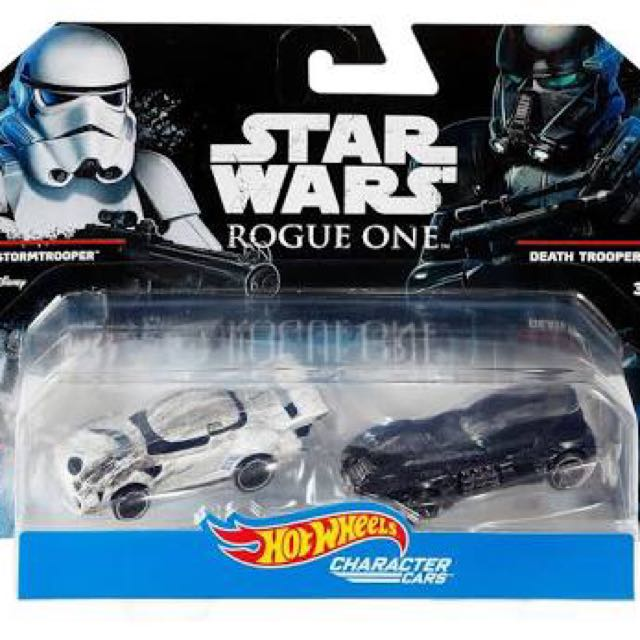 Hot wheels star wars rogue ine