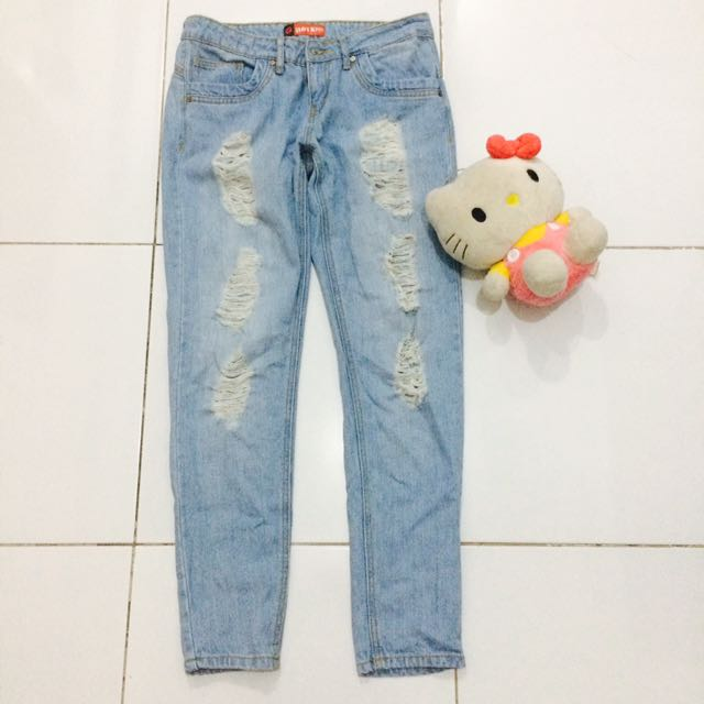 Hotkiss Ripped Jeans