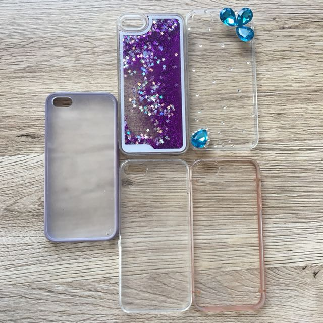 iPhone 5s cover sparkles gem and clear