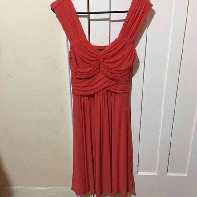 Jacqui E Red Cocktail/Ball Dress
