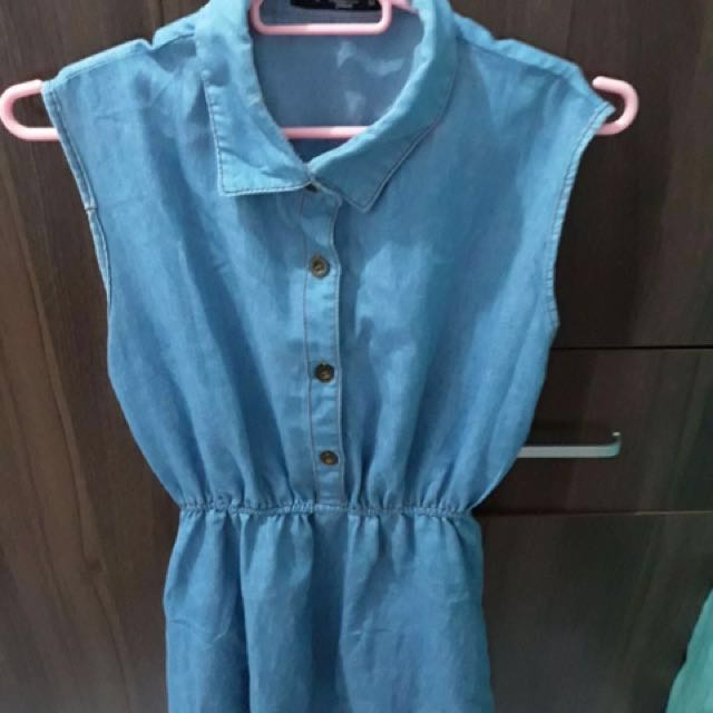 Jewels Denim Dress