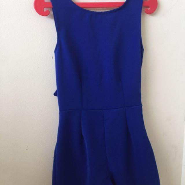 Jumpsuit blue