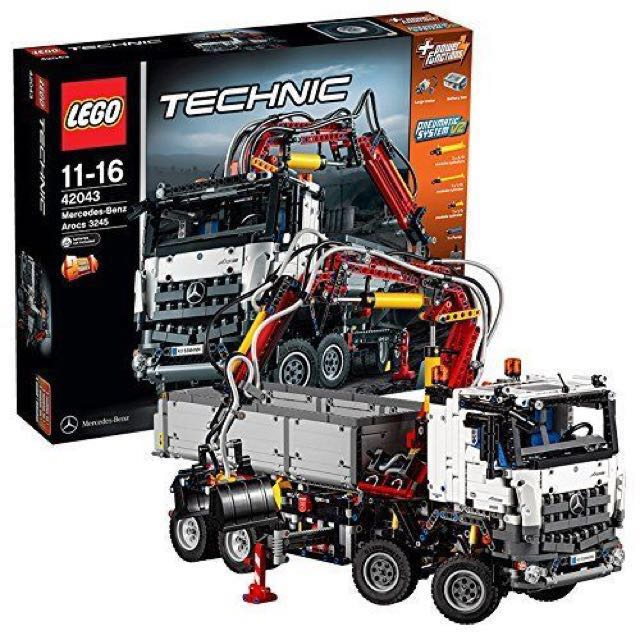 lego technic 42043 mercedes benz arocs 3245 tipper construction truck toys games toys on. Black Bedroom Furniture Sets. Home Design Ideas