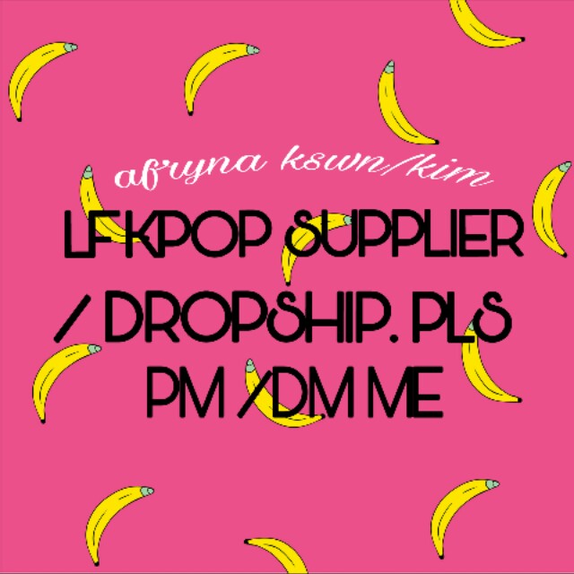 Lf supplier & wanna be dropship/reseller