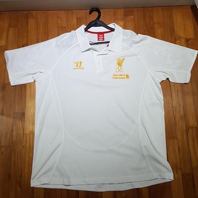 f41d00a93a Liverpool Polo T Shirt XXL (Warrior)