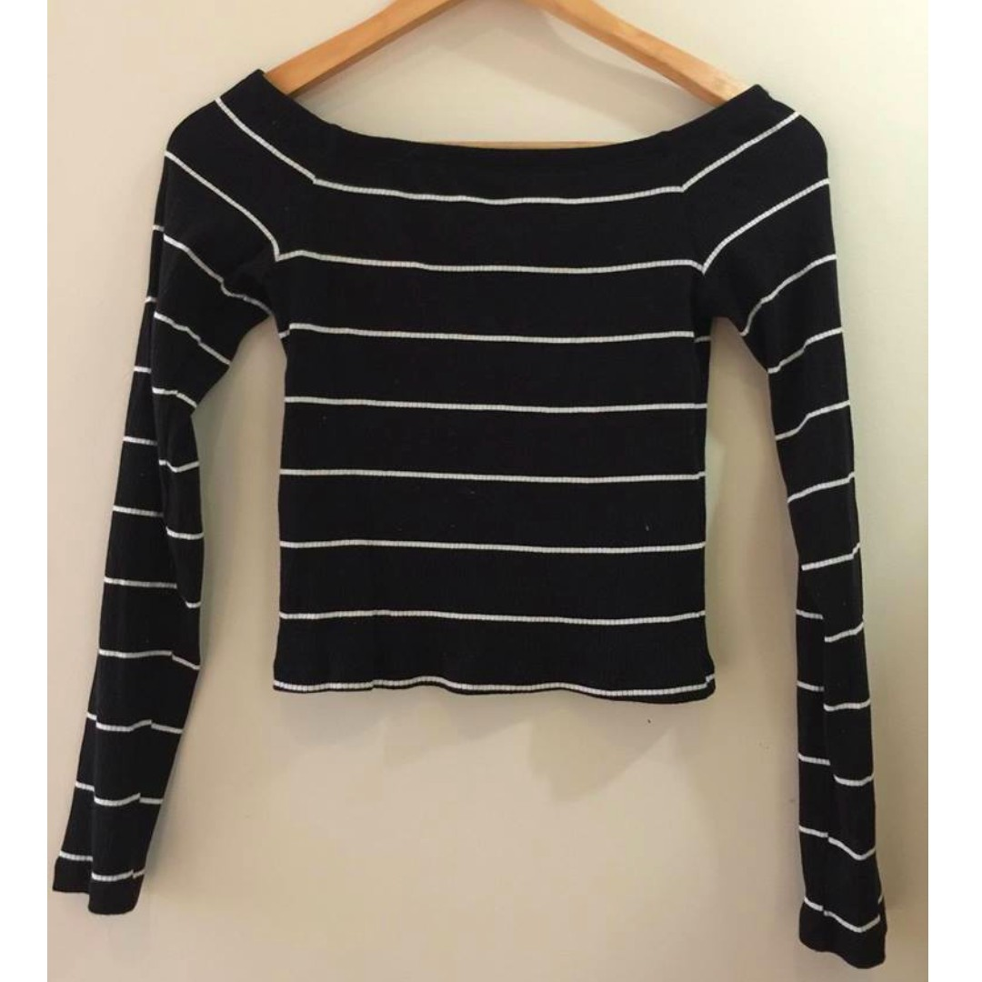 Long Sleeve Striped Top (S/8)