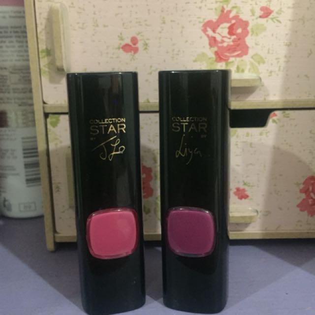 Loreal Lipstick - Jlo and Liya ( both )