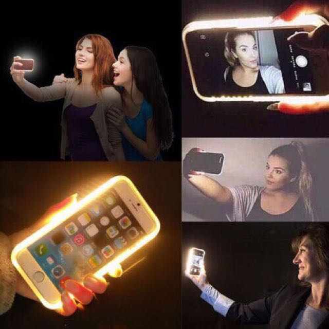 Luminous Selfie Case for iPhone 6/6s