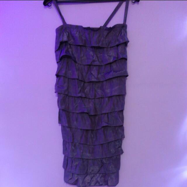 Metalic premium dress