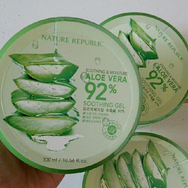 (Freong) Nature Republic Aloe Vera Gel 100%orii!