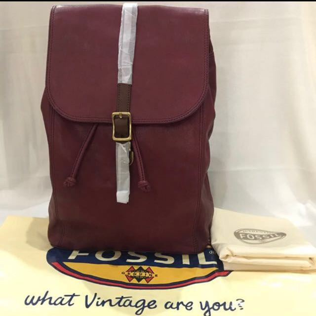 NEW BACKPACK FOSSIL ORIGINAL