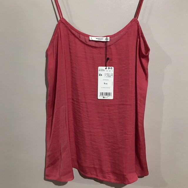 NEW MANGO pink tank top