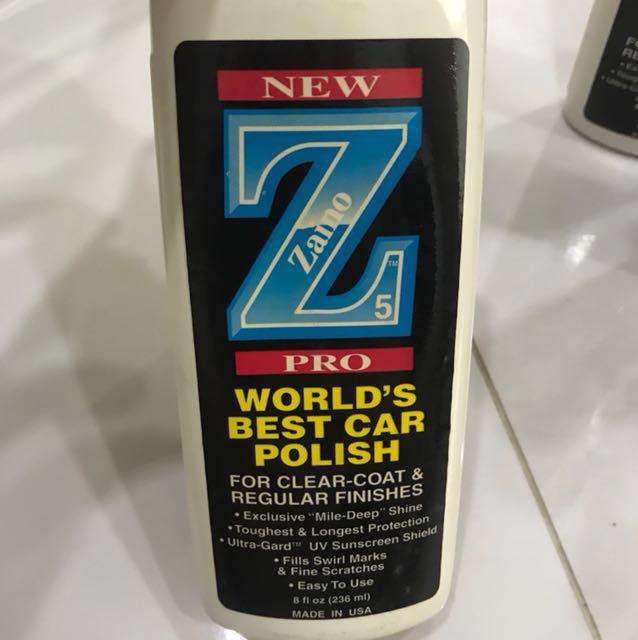 New Zaino Z PRO Show Car Polish Car Accessories On Carousell - Zaino show car polish
