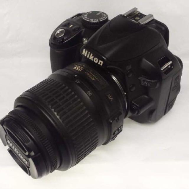 Nikon D3100 DSLR Camera Or Canon 500D Same Price