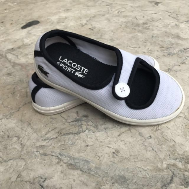 49bfaadf9005b Original Lacoste Toddler shoes