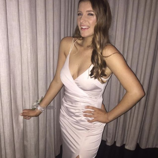 Pepper Mayo Champagne Dress