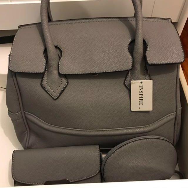[PRICE REDUCED] INSPIRE handbag set