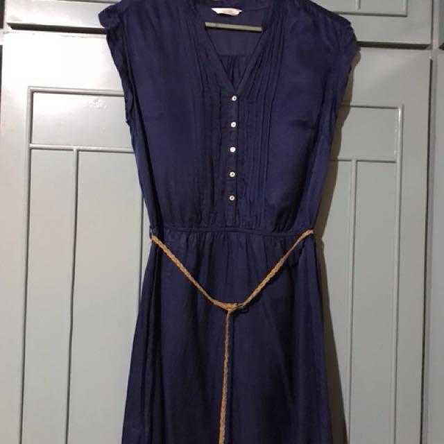 Promod navy dress