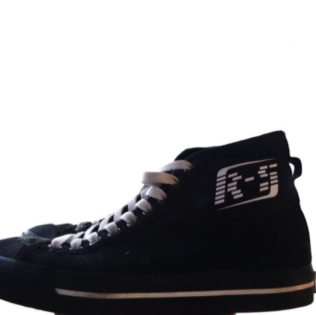 Raf Simons matrix spirit black high