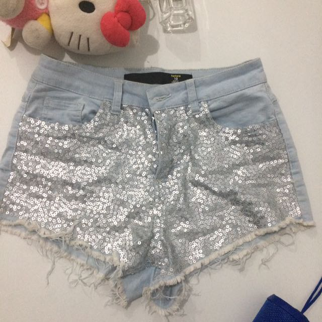 Shorts (sexy and sequined)