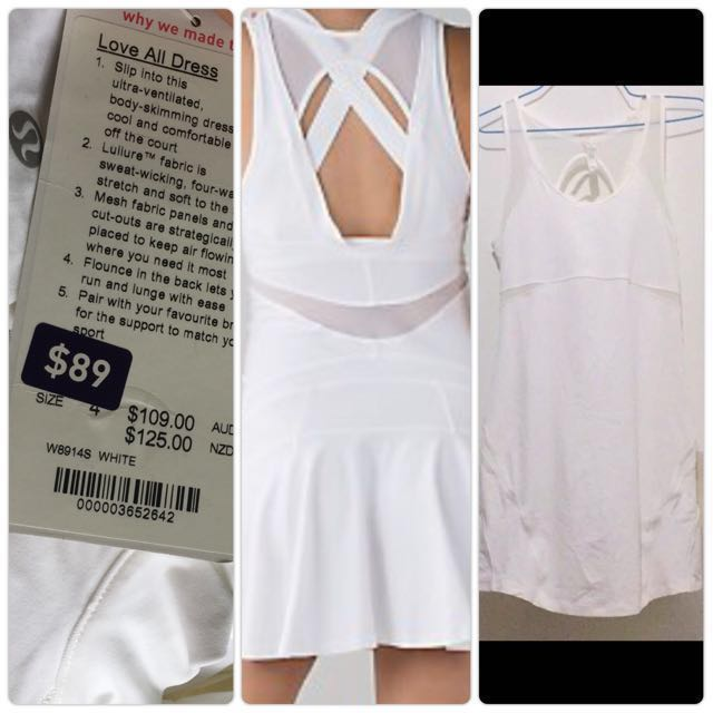 Size4 Love all dress lululemon BNWT