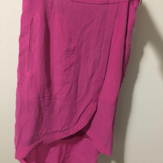 Socialight pink size 8 skirt