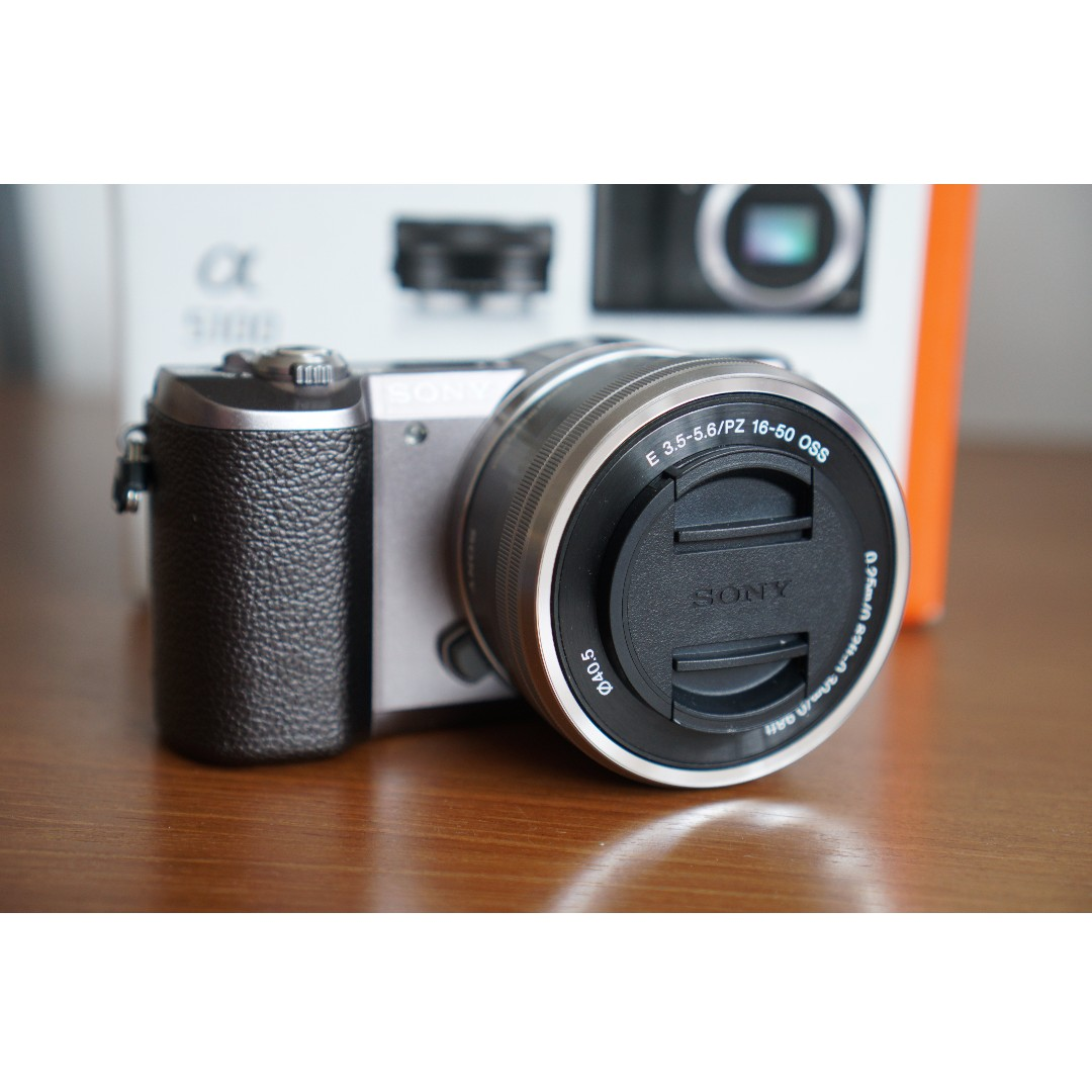 Sony Alpha A5100 Mirrorless Digital Camera With 16 50mm Lens Brown Kit Photography On Carousell