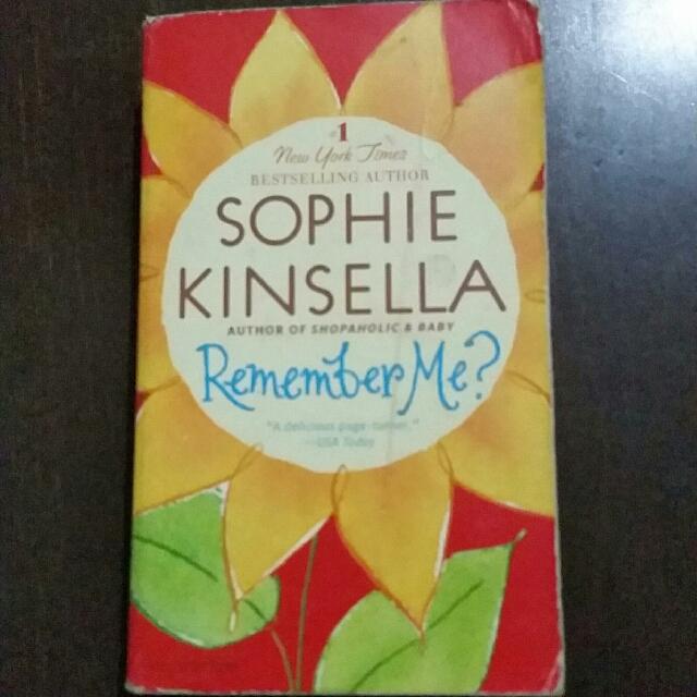 Sophie Kinsella Remember Me