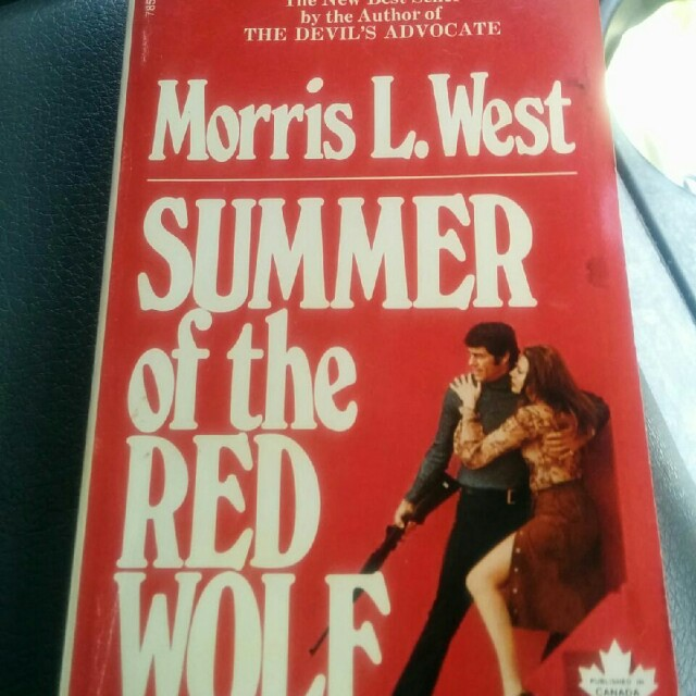 Summer of the Red Wolf- pocketbook