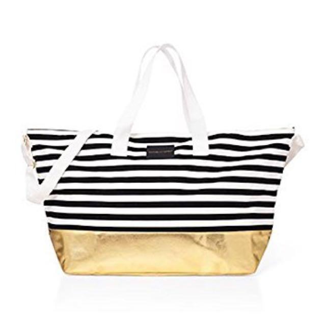 Tas Victoria Secret Large Duffle Beach Weekender Tote Bag