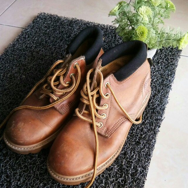 Teamwork Leather Safety Boots
