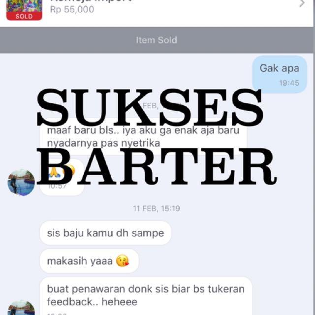 Testi Barter